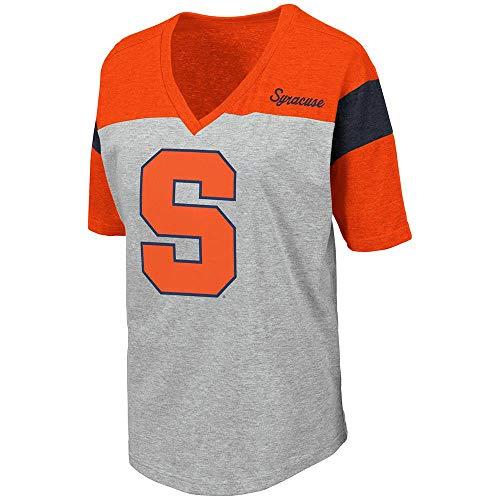 Colosseum Womens Syracuse Orange Genoa Short Sleeve Tee Shirt - L ()