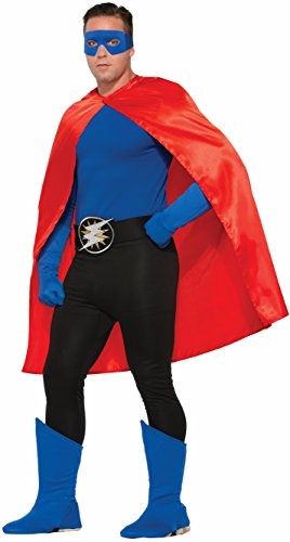 [Adult Superhero Pants Lrg Blk Costume Accessories] (Create Your Own Superhero Costume Online)
