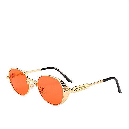 Color Proteccion de la de Ojos de C3 de Estilo Gafas la del Tonos la decoración de Moda C2 Sol Vendimia Primavera Steampunk de de ZaR1tU