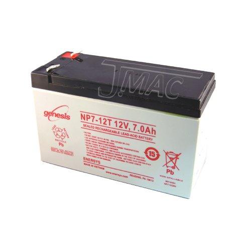 UPG Security Alarm System Battery 12V 7.2Ah SLA Security Certified-Electronics