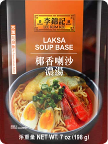 (Lee Kum Kee Laksa Soup Base 7 oz (198 g))