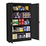 Jumbo 2 Door Storage Cabinet Color: Black