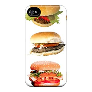 Awesome XBCAkHJ2612nsIlA Jasoates Defender Tpu Hard Case Cover For Iphone 4/4s- Burger To All Dn Members