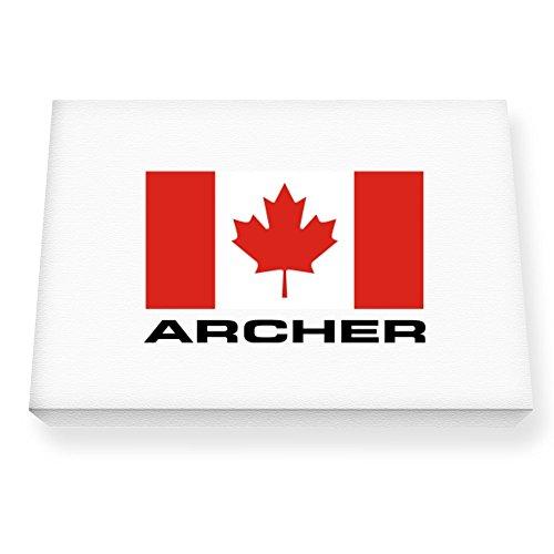 Teeburon FLAG CANADA Archer Canvas Wall - Archer Canada