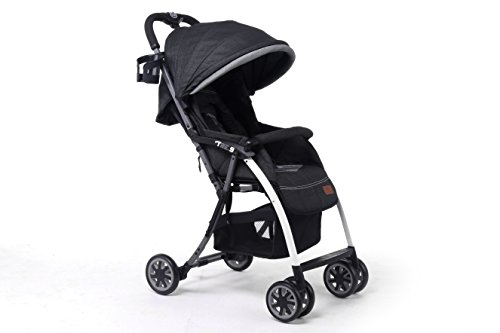 (Pali Ultra Lightweight Tre.9 Stroller Denim Attitude Los Angeles Black - Only 11)