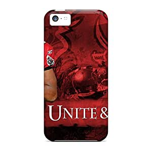 High Quality Shock Absorbing Case For Iphone 5c-tampa Bay Buccaneers