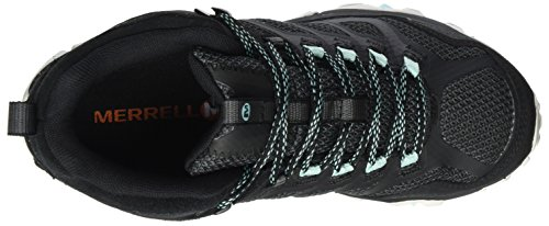 Gore Chaussures Merrell Randonnée Mid Noir de FST Femme Noir Hautes Moab Sarcelle Tex gCnqx4tw