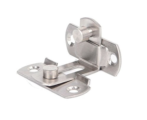 2 Large 90 Degree Right Angle Door Latch Buckles Curved Latch Bolts Sliding Lock Lever Bolts for Doors and Windows by ming (Image #5)