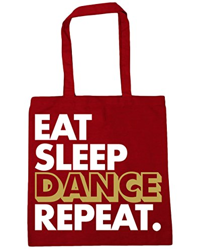 HippoWarehouse 42cm Gym Tote Dance x38cm litres Beach Shopping 10 Red Repeat Sleep Classic Bag Eat rzqZCwx4Wr