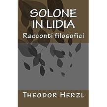 Solone in Lidia: Racconti filosofici