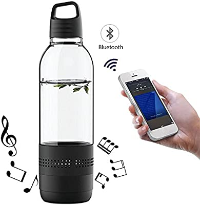 Music Sport Fitness Water Bottle Rechargeable Wireless Bluetooth Speaker