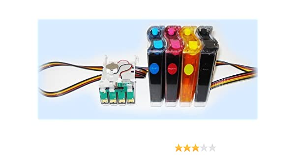 UV DYE CISS CIS ink system for epson workforce 7010 845 630 635