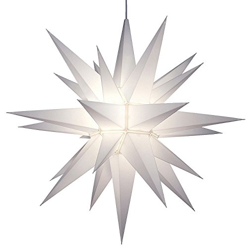 21'' Symmetrical 26-Point Lighted Star of Bethlehem LED Holiday Star (2-Pack) by Keystone