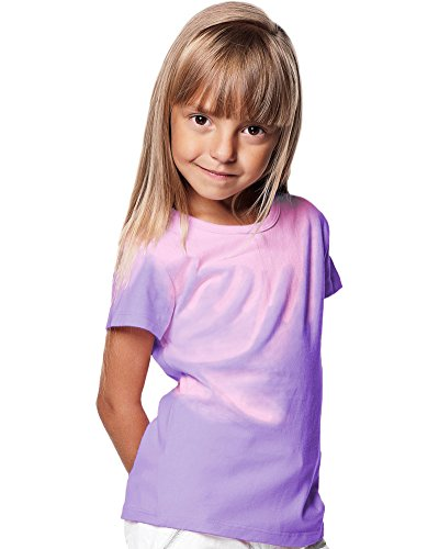 Shadow Shifter Kids Heat Reactive Color Changing T-Shirt SMARTWEAR (YXS, Bright Purple)