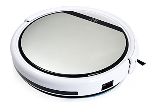 ILIFE V5 Robotic Vacuum Cleaner upgraded version of V3S for All Kinds of Floor Cleaning(Gray)
