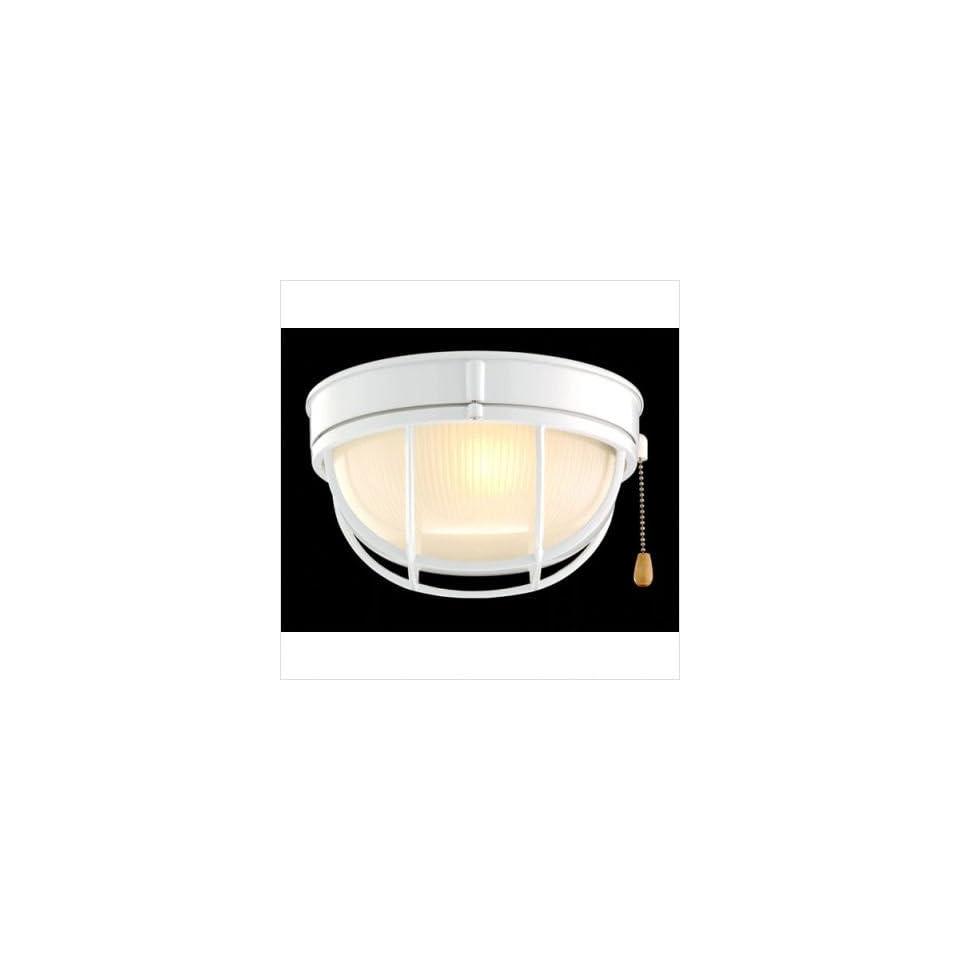 Marine Light Indoor/Outdoor Ceiling Fan Light Kit Finish Smokey Cobblestone