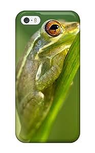 Keyi chrissy Rice's Shop frog animal amphibian macro Anime Pop Culture Hard Plastic iPhone 5/5s cases