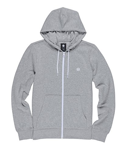 Element Men's Cornell Classic Zip Hoody, Grey Heather, L