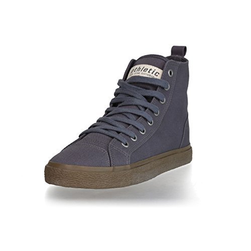 Ethletic Sneaker Goto Vegan Hicut Collection 18 - Farbe Pewter Grey Aus Bio-Baumwolle