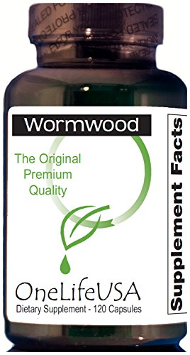 Original Premium Quality Pure Wormwood (no Quassia or Male Fern added). Product verified by Dr. H. Clark. 250mg,120 capsules. Non-GMO. Review
