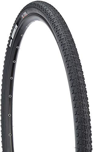 - Maxxis Rambler Tire: 700 x 38mm, Folding, 60tpi Casing, Dual Compound, Silk Shield Protection, Tubeless Ready, Black