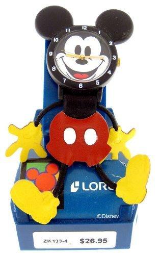 Rare Lorus Quartz Mickey Mouse Unique Body Watch New Old