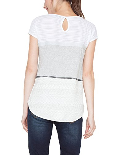 Desigual Ts_mire, Camiseta para Mujer Beige (Crudo 1001)