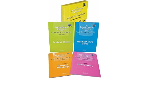 The Oxford Picture Dictionary for the Content Areas Reproducibles ...