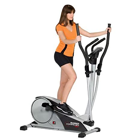 Hammer Cardio CE1 Crosstrainer - Bicicleta elíptica con ergómetro ...