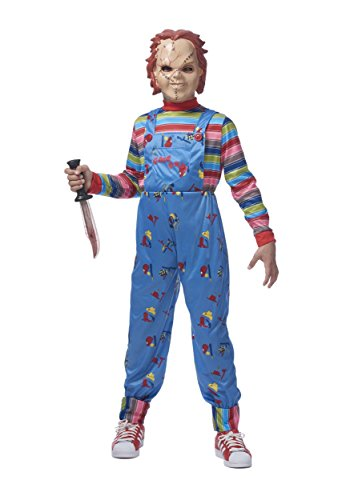 Good Costumes Guys (Franco Chucky Child Good Guys Killer Doll Costume)