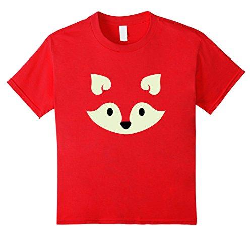 Male Red Fox Costume (Kids Fox Halloween Costume Shirt Cute Funny for Women Men Kids 12 Red)