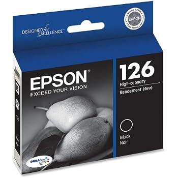 Epson T126120 DURABrite Ultra Black High Capacity Cartridge Ink