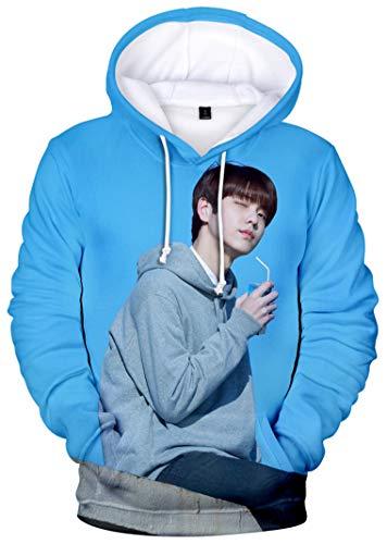 babyHealthy Kpop TXT The Dream Chapter Star 3D Digital Print Huening Kai Yeonjun Soobin Taehyun Beomgyu Hoodie Pullover Sweatshirt ()