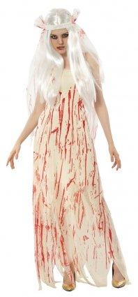 ladies fancy dress costume dead bride halloween