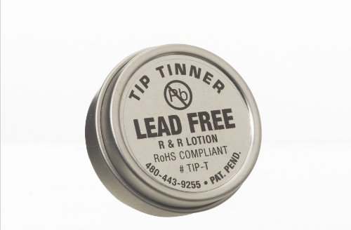r r lotion tip t i c lead free tip tinner 1 2oz size for soldering iron tips good deals today. Black Bedroom Furniture Sets. Home Design Ideas