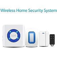 Wireless Remote Control Siren Motion Burglar Alarm System Home Security