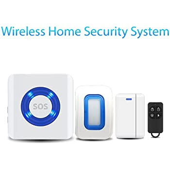 Amazon.com: Remote Control Wireless Door Alarm System: Home ...
