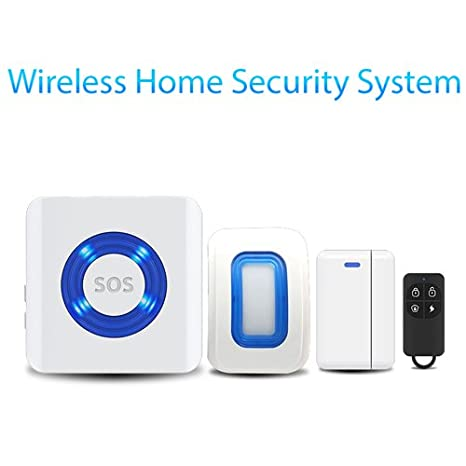 Amazon.com : Wireless Remote Control Siren Motion Burglar ...