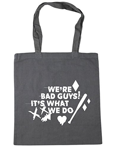 Tote x38cm Beach Do It's Quote We Shopping We're 42cm Bag Gym Grey litres HippoWarehouse Guys What Graphite Harley Bad 10 qwpRfnz