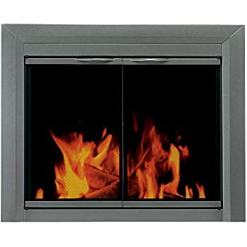 Amazon Com Pleasant Hearth Cr 3401 Craton Fireplace Glass
