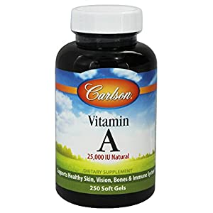 Carlson Labs Vitamin A Natural, 10000 IU