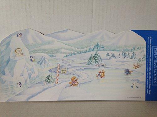 Hallmark Merry Miniature Artic Scene Backdrop Display -