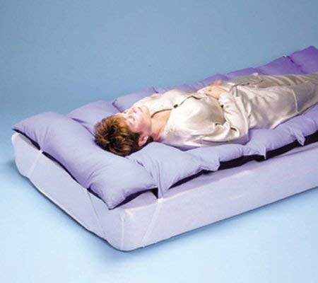 Total Comfort Poly-Filled Mattress Topper, Size: 36 W x 80 L (Bed NOT Included)