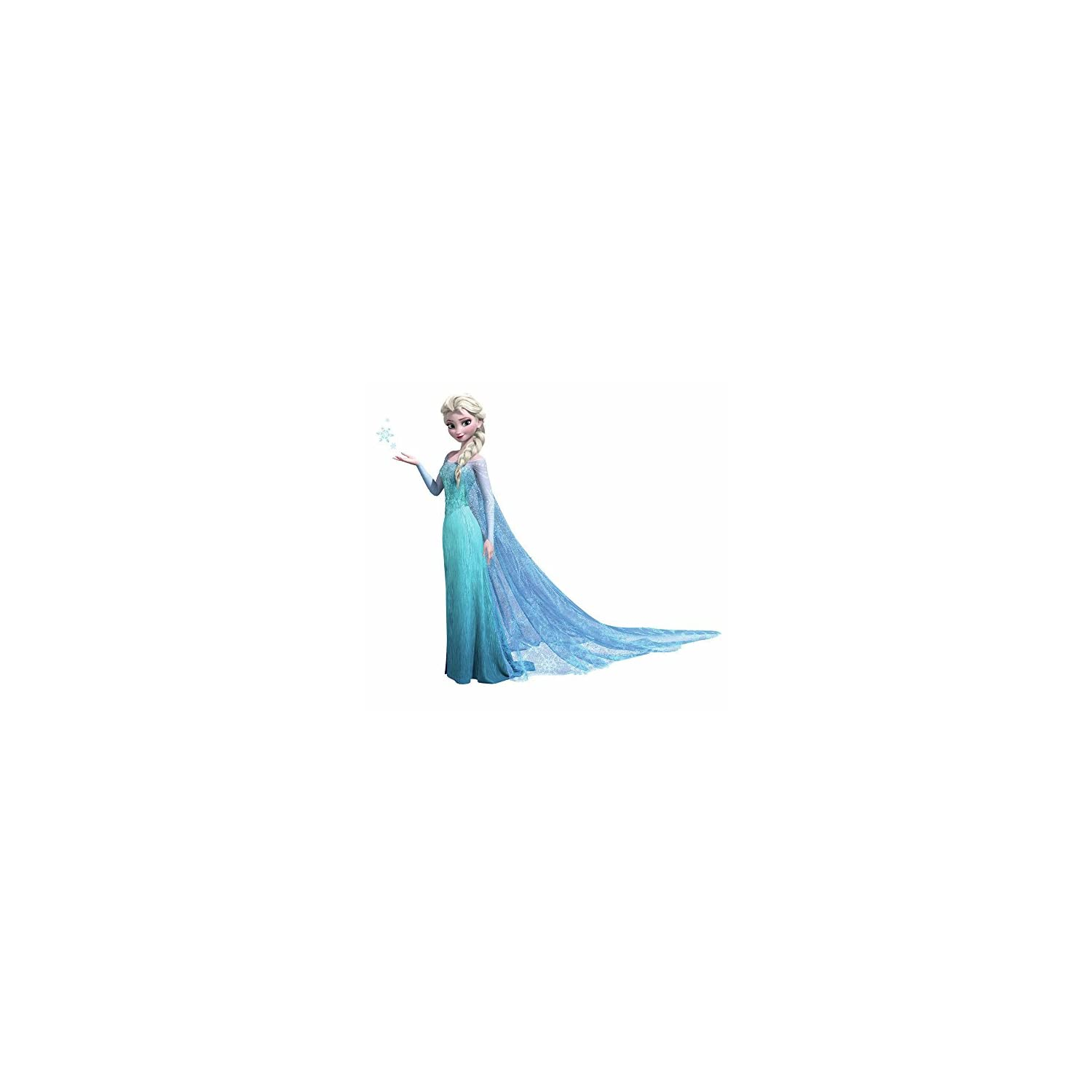 Roommates Rmk2371Gm Frozen Elsa Peel And Stick Giant Wall Decals, 1-Pack