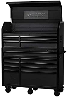 Amazon Com Husky 52 In 15 Drawer Industrial Tool Chest And Cabinet Combo H52ch6tr9hd Home Improvement