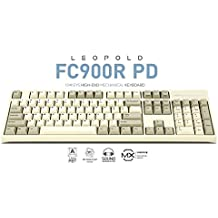 Leopold FC900R PD 104KEYS HIG-END MECHANICAL KEYBOARD CHERRY MX SWITCH (Brown Switch, White)