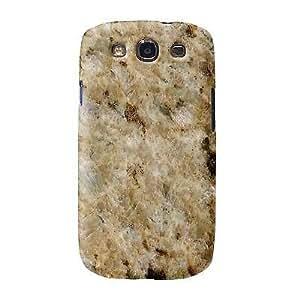 NEW Giallo Santo Granite Marble Design Snap On Cover Case GALAXY GS3 S3 NEW
