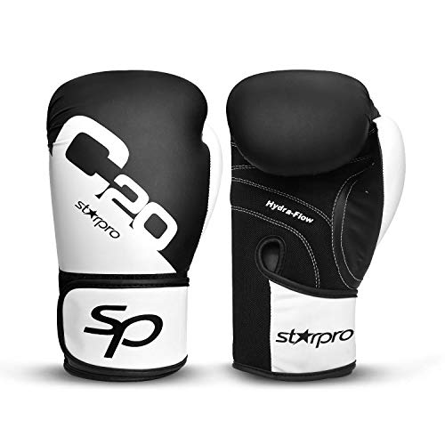 Boxing Gloves, Kickboxing Training Gloves, Use for Muay Thai Style Martial Arts Punching Bag Mitts, Fight Gloves Men & Women ()