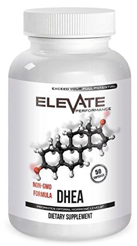 Supplément de 50mg DHEA #1 - fournit naturellement la DHEA pour soutien à la recherche & encourage la jeune sensation - encourage les niveaux d'énergie saine pour les hommes & femmes - santé sexuelle - formule Non-OGM - Made in USA
