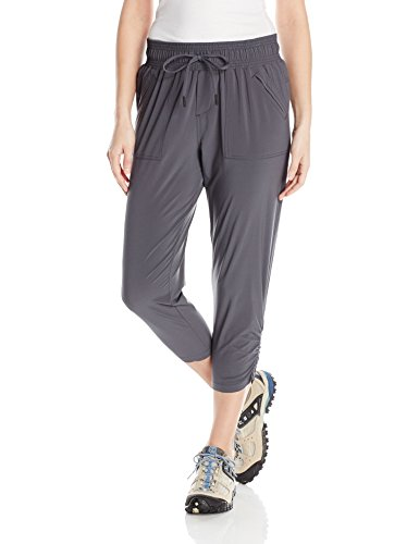 prAna Women's Midtown Capri, Coal, X-Small